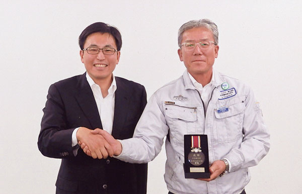 2015年度 品質特別賞
