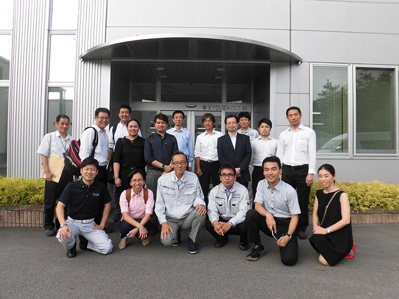 日タイ国際共同研究チームが、弊社のBCP対策を研究する為に来訪されました。